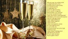 ÚJÉVI KÉPESLAPOK - tanitoikincseim.lapunk.hu Evo, Flute, Champagne, Wall Lights, Tableware, Appliques, Dinnerware, Tablewares, Flutes