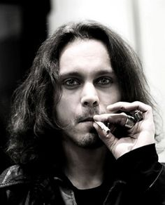 ville valo: magnus hammersmith. just noticed it is my 888 pin. Good morning to me!