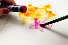 Blog: Tutorial: WaterColor + Embossed Alpha = LOVE | Celine Navarro - Scrapbooking Kits, Paper & Supplies, Ideas & More at StudioCalico.com!