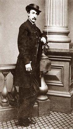 John Wilkes Booth..Lincoln's assassin