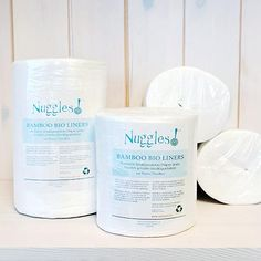 Unlike other liners on the market made from paper or wood pulp, these are made from sustainable BAMBOO! 100% Biodegradable and flushable. Place between diaper and baby to catch solid waste. 100 count roll. Not recommended for use with septic tanks, or old/damaged pipes. 100% viscose from organic bamboo