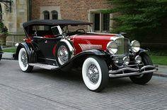 1932 Duesenberg DC Phaeton body by LeBaron (J182) - (Duesenberg Automobile & Motors Company, Inc. Auburn, Indiana,1913-1937)