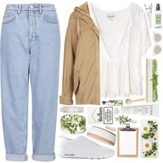 Outfit 143 by holass on Polyvore featuring Cleobella, Topshop, Boutique, NIKE, Quay, Natio, Laura Mercier, Korres, Bourjois and Bambeco