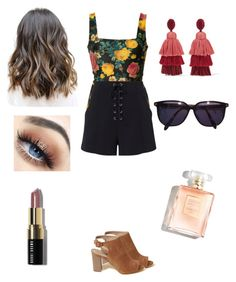 """Summer lover 😘"" by allweare on Polyvore featuring FAUSTO PUGLISI, Hollister Co., Oscar de la Renta, Sonia Rykiel, A.L.C. and Bobbi Brown Cosmetics"