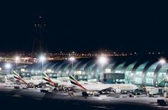 Dubai International Airport Terminal 3 ~ my work place