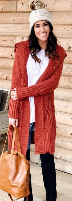 #winter #outfits  men's cable knitted cardigan