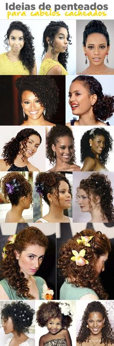 Curly Afro Hair, Curly Hair Tips, Natural Hair Tips, Hair Dos, Natural Hair Styles, Curled Hairstyles, Wedding Hairstyles, Wedding Hair And Makeup, Hair Makeup