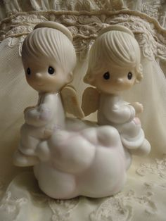 Precious Moments Figurine But Love Goes On by MyMostFavoriteThings