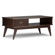 48d9267974f2 Dexter Mid - Century Coffee Table - Deco Walnut (Brown) - Haven Home ...