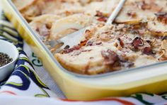 Creamy bacon potato bake