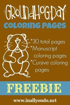connect the dots page/groundhog day | february holidays ... - Groundhog Day Coloring Pages Kids