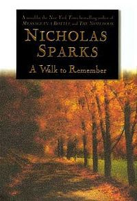 A Walk to Remember is a novel by American writer Nicholas Sparks, released in October 1999. The novel, set in 1958-'59 in Beaufort, North Carolina, is a story of two teenagers who fall in love with each other despite the disparity of their personalities. A Walk to Remember is adapted in the film of the same name.