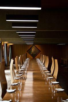 Arne Jacobsen - St Catherine's College, Oxford by Szymon Migaj, via Behance