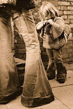 hippie jeans vintage DIY jeans makeover!