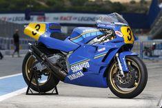 Motos Yamaha, Yamaha Motorcycles, Cars And Motorcycles, Scrambler, Gp Moto, Old Bikes, Super Bikes, Road Racing, Motogp