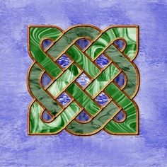 Celtic- stained glass