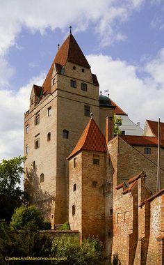 Trausnitz Castle, Landshut, Bavaria, Germany - www.castlesandmanorhouses.com
