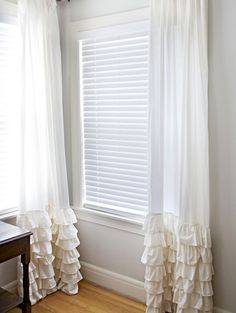 19 DIY Window Treatments to Update Your Space via Brit + Co.
