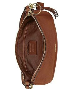 ❤️ Coach Sutton 1941 Saddle/Gold 52548 Crossbody in Polished Pebble Leather Buttery Biscuits, Polished Pebble, Pebbled Leather, Sling Backpack, Backpacks, Gold, Fashion Design, Bags, Style