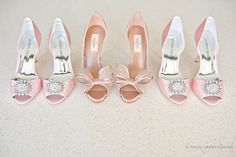 Tips on choosing the right shoes for your wedding day! | ExtraOrdinary Weddings | Photographed by Studio Impressions