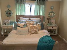 Master #2 #bedroom#decor#aqua#home#comfy
