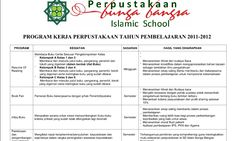(Blogedukasi) Program Kerja Perpustakaan Contoh Perangkat Administrasi Perpustakaan Sekolah Dasar dan Menengah Atas [Dokumen Pendidikan]