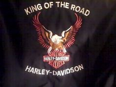 HARLEY DAVIDSON Motor Cycles Mens XXL Black Jacket Coat KING of the ROAD #HARLEYDAVIDSON #BasicJacket