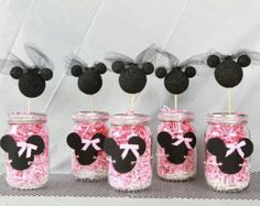 Minnie Mouse Centerpiece Decoration by ASTAcrafts on Etsy