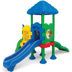 Discovery Center 2 - UltraPlay Commercial Playground - 8 in. Ground Spike