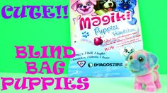 Magiki Puppies Blind Bags Cute Little Pets + Specials Toys Opening & Kids Toy Review  on http://www.princeoftoys.visiblehorizon.org