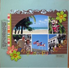 Share Photos : Scrap Challenges:San Juan, Puerto Rico