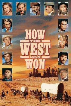 How the West Was Won movie poster - #poster, #bestposter, #fullhd, #fullmovie, #hdvix, #movie720pThe epic tale of the development of the American West from the 1830s through the Civil War to the end of the century, as seen through the eyes of one pioneer family.