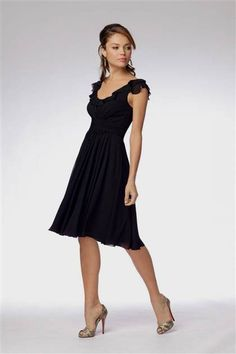 black bridesmaid dresses short with sleeves 2016 » Ad Board