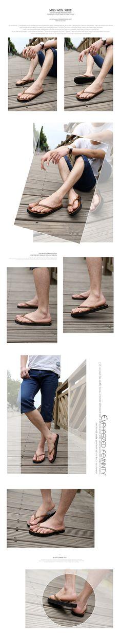 El envío gratuito ascensor hombres de zapatillas de verano transpirables para hombre corriente de marea más tamaño chanclas sandalias de playa en Sandalias de Hombre de Calzado en AliExpress.com   Alibaba Group