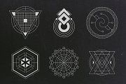 24 Sacred Geometry Vectors - Objects - 3