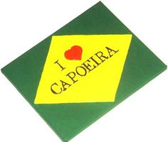 Capoeira Painting, Capoeira Art, Martial Arts Decor, Brazilian Art, Capoeira Gift, Teens Room Decor, Studio Decor, Preteen Gift, Capoeirista