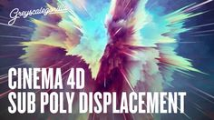 In this video, learn how to use an image to displace geometry in Cinema 4D. ***** Want To Learn Cinema 4D? Check out our Training Page for much more C4D Trai...