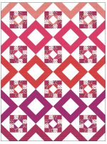 """Toucan Dance Quilt by Megan Callahan /60""""x80"""""""