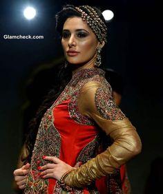Nargis Fakhri India Bridal Fashion Week 2013 Ashima Leena