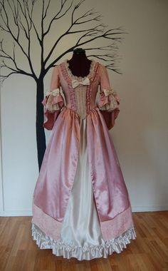 Pink Victorian Dress
