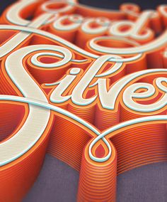 Good Name Is Better Than Silver & Gold - Typographic treatment #1 - close-up