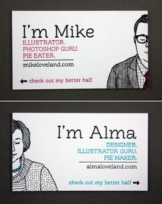If you need more inspiration for your business cards follow @wonbran