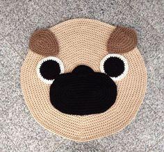 crocheted pug - Google Search