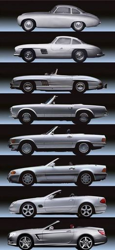 Cool Mercedes evolution