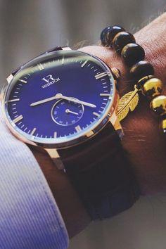 vividessentials:  VODRICH Royce Watch - $59.00VODRICH Tiger-Eye Bracelet - $25.00Buy yours here.