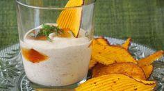 Spiced Yogurt Dip - QueRicaVida.com