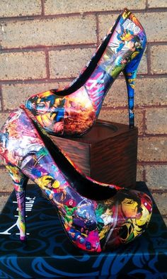 Check out LoveItSoMuch to discover unique products like X men high heels |2013 Fashion High Heels|