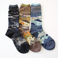 A WHOLE NEW WORLD Socks by Antipast (Japan)