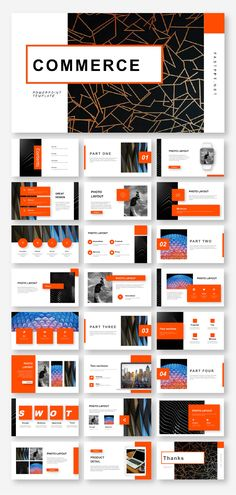 4 in 1 business template. PPTX & Documentation files for ratio. No Photoshop or other tools needed! Web Design, Layout Design, Book Design, Business Presentation Templates, Presentation Design Template, Presentation Slides, Powerpoint Design Templates, Creative Powerpoint, Best Powerpoint Presentations