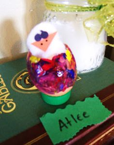 Plain Graces: Easy Peeping Chick Spring Craft